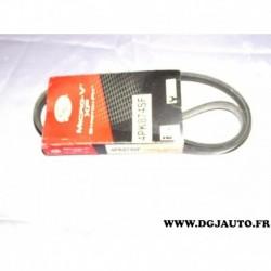 Courroie accessoire 4PK874 SF pour fiat doblo 1 partir 2000 1.6 16V essence