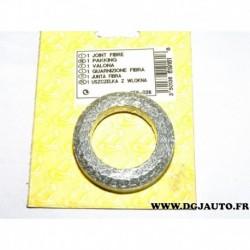 Joint bague metallique tuyau echappement 256026 pour peugeot 205 309 1.0 1.1 1.4 essence