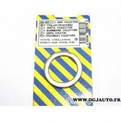 Joint bague metallique tuyau echappement 256055 pour toyota starlet de 78 à 88 corolla de 84 à 92 tercel de 79 à 82