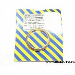 Joint bague metallique tuyau echappement 256908 pour BMW E30 E36 serie 3