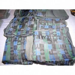Kit housse protection siege gris AV3 P0629X pour citroen berlingo peugeot partner partir 06/2008 version 3 sièges