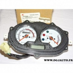 Compteur de vitesse contour effet carbone 70000B990000 pour moto race 50F 50 F