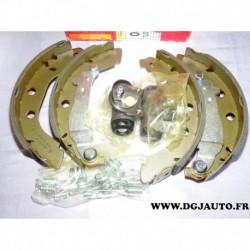 Kit frein arriere 228x40mm montage bendix 8671003902 pour peugeot 406 avec ABS