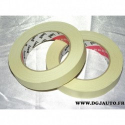 Rouleau adhesif repositionnable 19mm 50 mètres masking tape 100°C DLU 04/2017