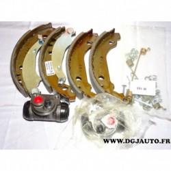 Kit frein arriere 180x30mm montage bendix 8671003905 pour peugeot 206 à partir de 1998