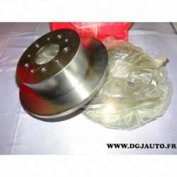 Paire disque de frein arriere plein 280mm diametre 8671019295 pour citroen jumper fiat ducato peugeot boxer