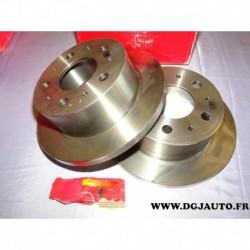 Paire disque de frein arriere plein 280mm diametre 8671019294 pour citroen jumper fiat ducato peugeot boxer