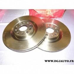 Paire disque de frein avant ventilé 345mm diametre 8671019287 pour volkswagen eos golf 5 6 passat B6 scirocco 3 skoda superb 2 s