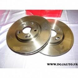 Paire disque de frein ventilé 288mm diametre 8671019277 pour renault espace 3 III