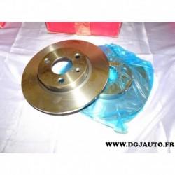 Paire disque de frein plein avant 247mm diametre 8671010010 pour citroen AX saxo