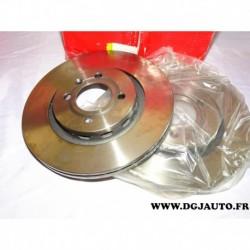 Paire de disque de frein avant ventilé 281mm diametre 8660001238 pour seat volkswagen audi skoda