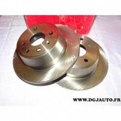 Paire disque de frein arriere plein 260mm diametre 8671017419 pour opel vectra A astra F