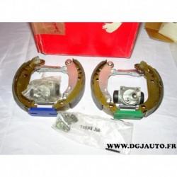 Kit frein arriere prémonté montage bendix 180x32mm 8671016823 pour peugeot 206