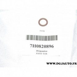 Joint 7.6x1.8 compresseur climatisation durite 7H0820896 pour audi 80 A3 A4 A5 A6 A7 A8 Q5 Q7 TT volkswagen caddy corrado fox go
