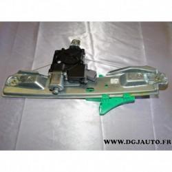 Leve vitre electrique arriere gauche avec moteur 13350762 pour opel astra J partir 2010