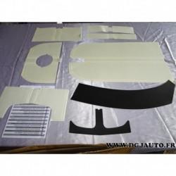 Kit autocollant décoration sport capot becquet hayon 13450833 pour opel corsa E 3 portes partir 2014