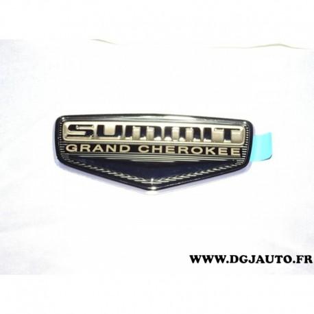 Logo motif embleme hayon coffre arriere summit grand cherokee 68110987AA pour jeep grand cherokee 2014