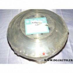 Paire disque de frein avant plein 257mm diametre 71738373 pour fiat brava bravo marea punto 1 2 tempra tipo lancia dedra delta Y