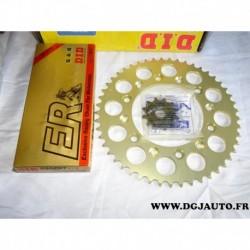 Kit chaine DID 2080101/2 pour moto honda 125CR 125 CR de 1997 à 1999
