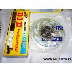 Kit chaine DID 1040853/7 pour moto honda 1000CBR F 1000 CBR F de 1996 à 1999