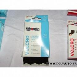 Boite 6 serre cables à fente réutilisable 12mm x 20cm VELCRO® 60388