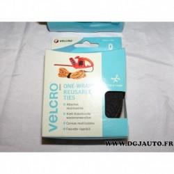 Rouleau ruban noir 30mm x 5m réutilisable à couper sur mesure VELCRO® 60254