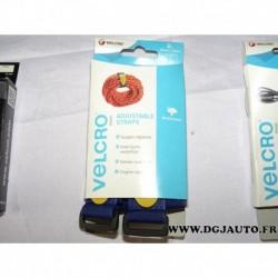 Boite 2 sangles reglables weatherproof 25mm x 92cm VELCRO® 60327
