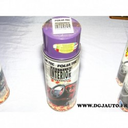 Bombe aerosol 471mml peinture interieur folia tec 20132 violet carstyling