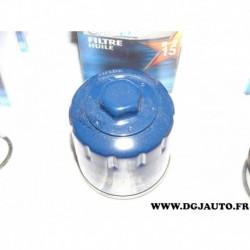 Filtre à huile optonix H15 pour renault à identifier ???