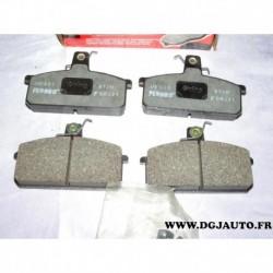 Jeux 4 plaquettes de frein avant montage lucas FDB221 pour lancia delta prisma seat malaga ronda terra