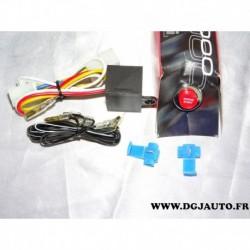 Kit bouton demarrage avec relais S2000 race sport adaptable universel