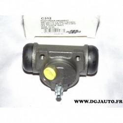 Cylindre de roue frein arriere 20.64mm JCD C312 pour peugeot 406