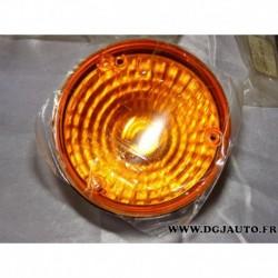 Feu clignotant orange arriere adaptable 2BA964169-501 pour engin agricole tracteur (sans vis ni joint)