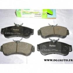 Jeux 4 plaquettes de frein avant montage TRW 598054 pour nissan almera N16 primera P10 P11