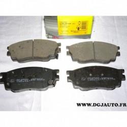 Jeux 4 plaquettes de frein avant montage sumitomo 05P877 pour mazda 6 GG GH partir 2002