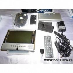 "Poste radio autoradio DVD ecran 7"" 7 pouces oxygen vision 1 (modèle expo)"