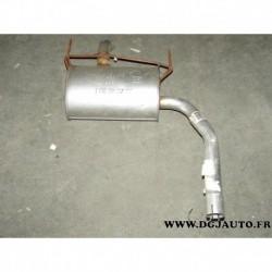 Silencieux intermediaire echappement 200729 pour renault laguna 1 phase 1 et 2 1.8 2.0 essence dont nevada