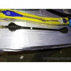 Cardan transmission avant droit 22 cannelures avec bague ABS T1180 pour fiat brava bravo 1.6 16V essence