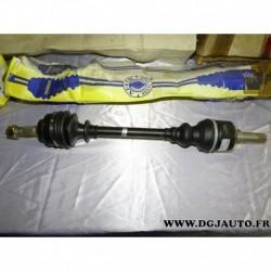 Cardan transmission avant gauche 24/25 cannelures T1370 pour citroen berlingo C4 peugeot 307 partner 1.6 2.0 essence 1.6HDI 1.6