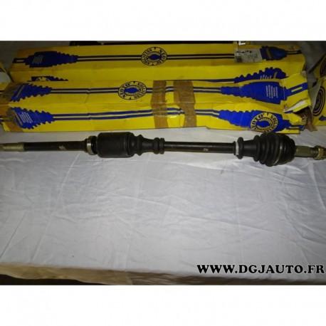 cardan transmission avant droit 22 25 cannelures t1548 pour citroen c4 peugeot 307 1 4 1 6 16v. Black Bedroom Furniture Sets. Home Design Ideas