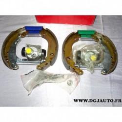 Kit frein arriere montage bendix prémonté 8671014473 pour peugeot 206 dont SW 206+