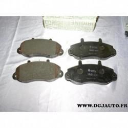 Jeux 4 plaquettes de frein avant montage bendix 7701207166 pour renault master 2 opel movano A partir 1998