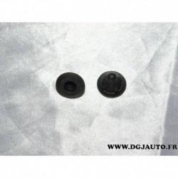 1 Douille insert fixation logo motif embleme badge hayon coffre 52035586 pour fiat 500X partir 2015