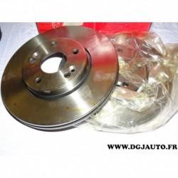 Paire disque de frein avant ventilé 280mm diametre 8671017410 pour renault laguna 2 II
