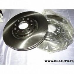 Paire disque de frein avant 312mm diametre ventilé 8671019264 pour volkswagen passat B5.5 skoda superb seat exeo audi A4 A6