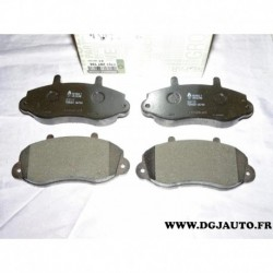 Jeux 4 plaquettes de frein avant montage bendix 7701207166 pour renault master 2 II opel movano A