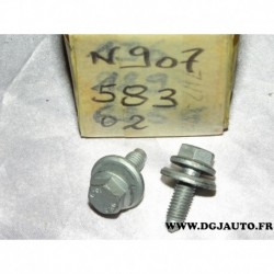 1 Vis M8x25 usage divers N90758302 pour volkswagen seat skoda audi
