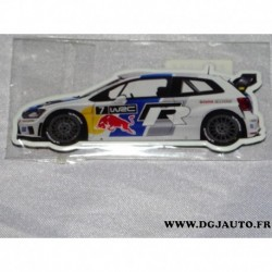 Aimant magnet goodies decoratif 000087703BH volkswagen polo WRC