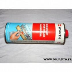 Bidon flacon 1 litre 1L de nettoyant degraissant avant collage wurth 08932001