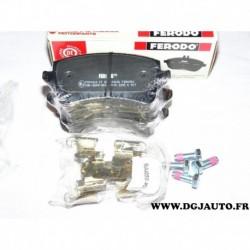 Jeux 4 plaquettes de frein arriere montage lucas FDB4050 pour audi A4 A5 Q5 partir 2008